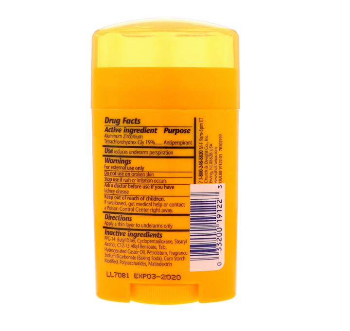 Arm & Hammer Ultra Max Fresh Scent Solid Antiperspirant Deodorant 2.6 oz