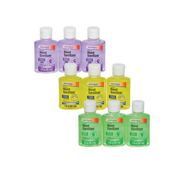 Assured Instant Hand Sanitizer, Travel Size Double Pack