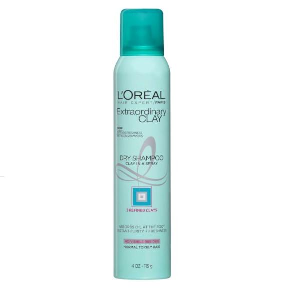 L'Oreal Paris Elvive Extraordinary Clay Dry Shampoo 4 OZ