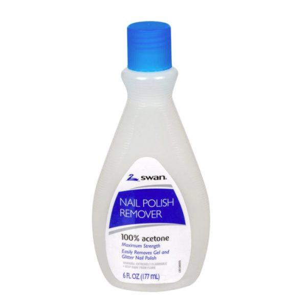 Maximum Strength Acetone Nail Polish Remover. 6 oz